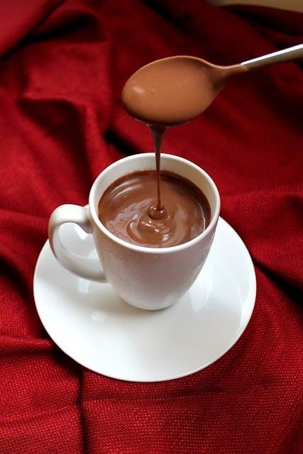 Decadently Thick Italian Hot Chocolate Recipe