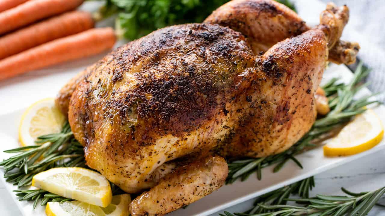 Roasted Chicken Thumbnail Thestayathomechef Com