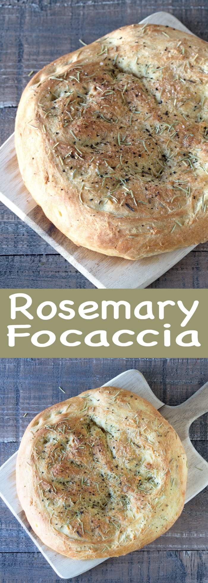 Easy Homemade Rosemary Focaccia Makes The Most Delicious Sandwiches And Is Heavenly Along Side A Bowl