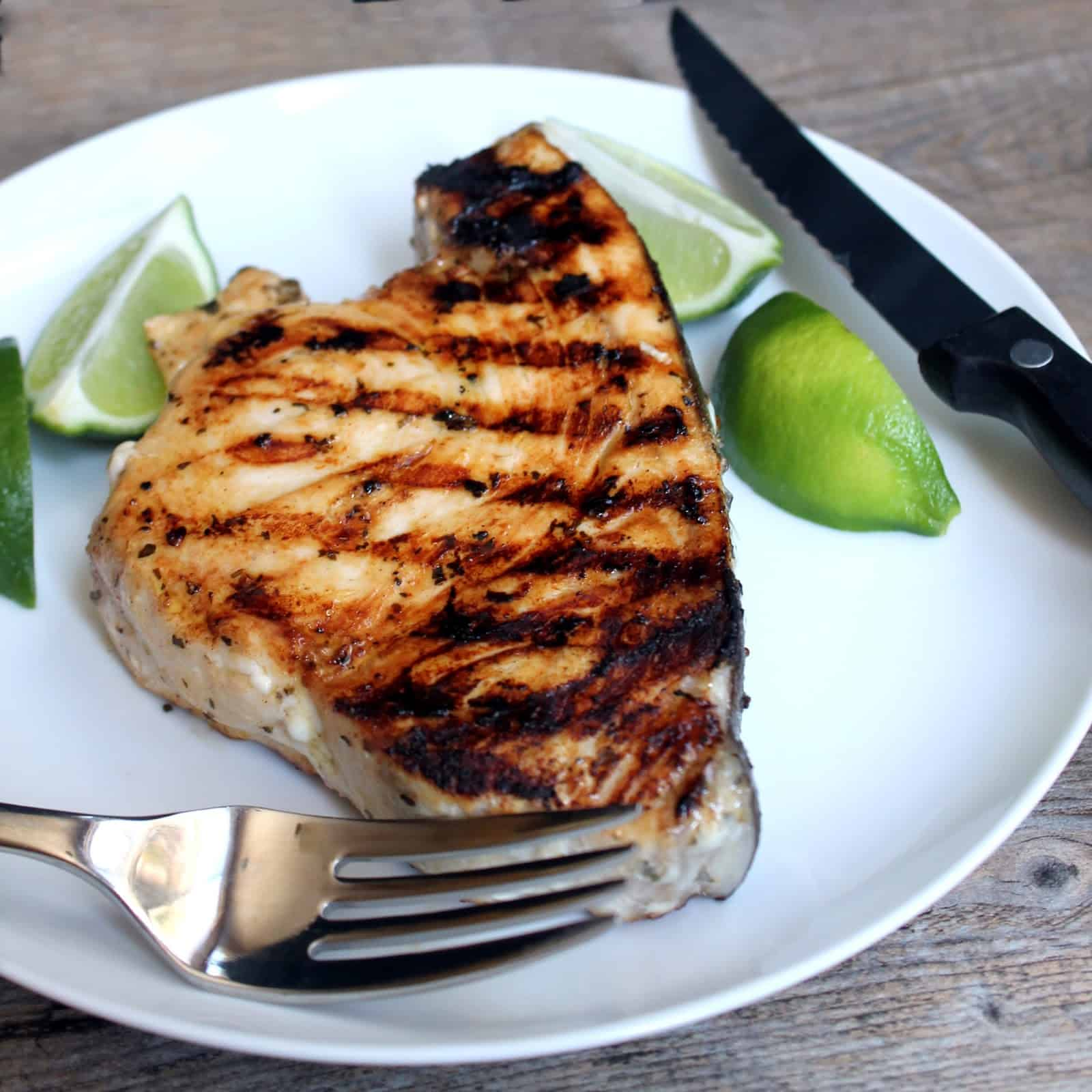 Grilled Swordfish Steak with Lemon-Dill Aioli Sauce ...   Broiled Swordfish