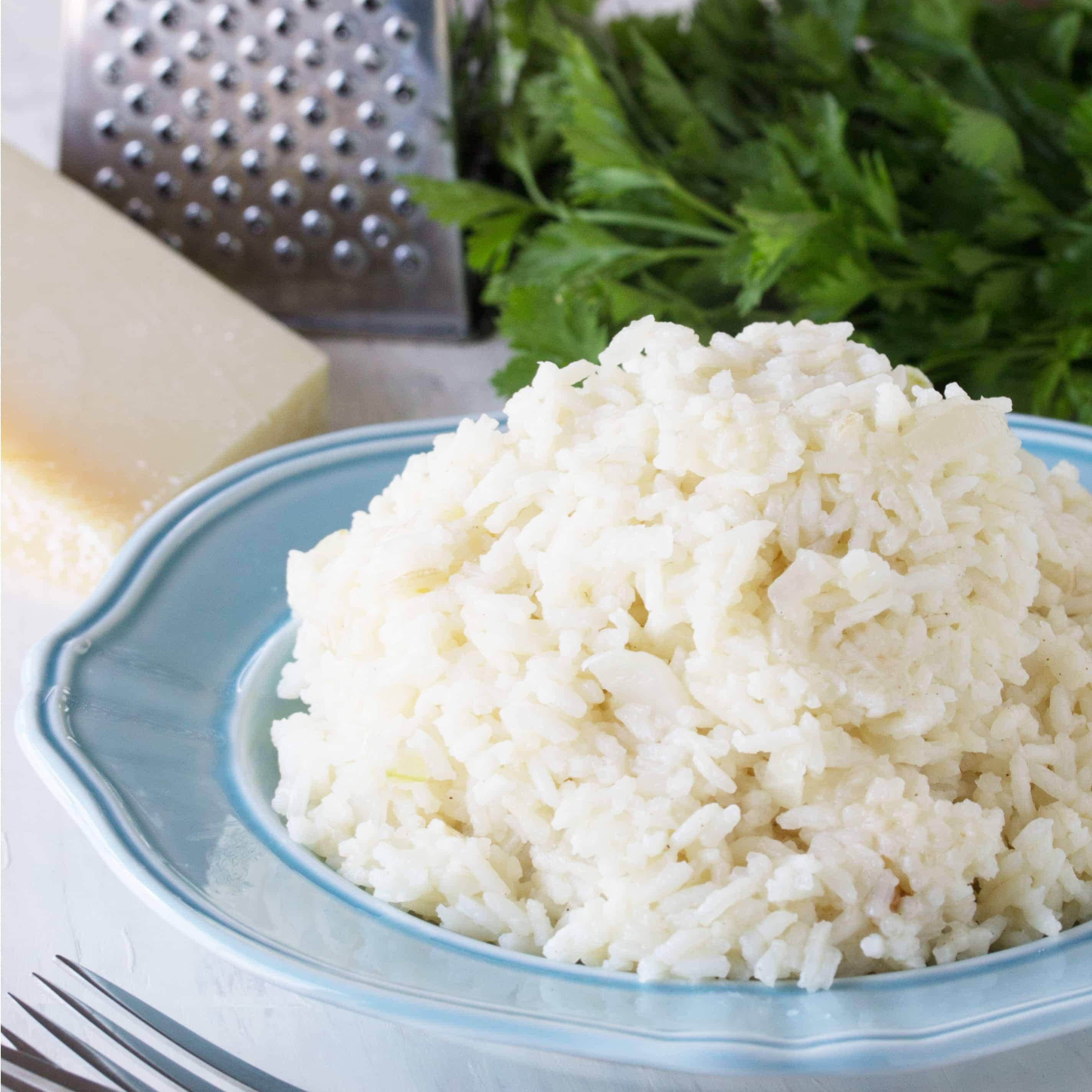 Easy Cheesy Rice Pilaf