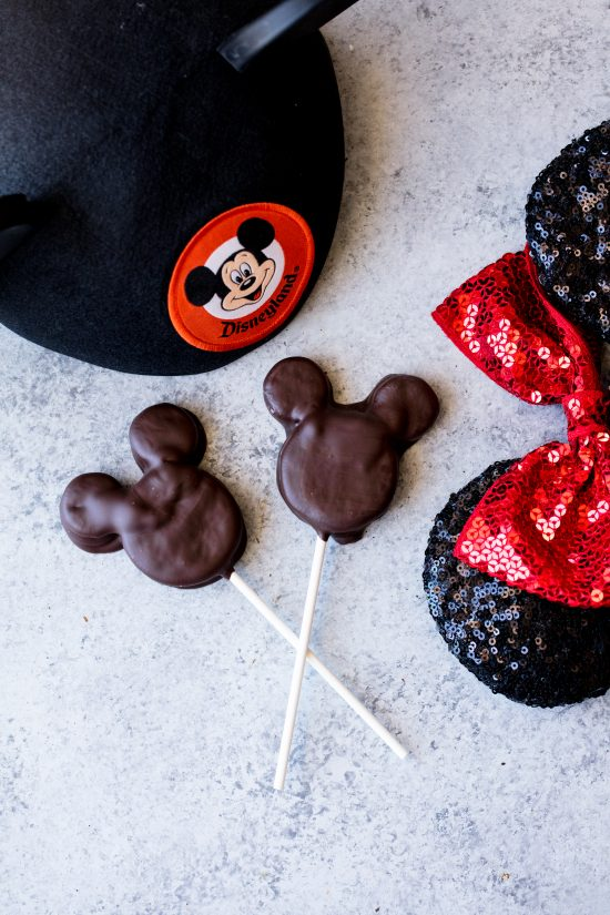 Mickey Mouse Oreo Pops are a fun way to bring some Disneyland Magic to birthdays, school parties, and other special occasions for kids and adults alike who love all things Disney!
