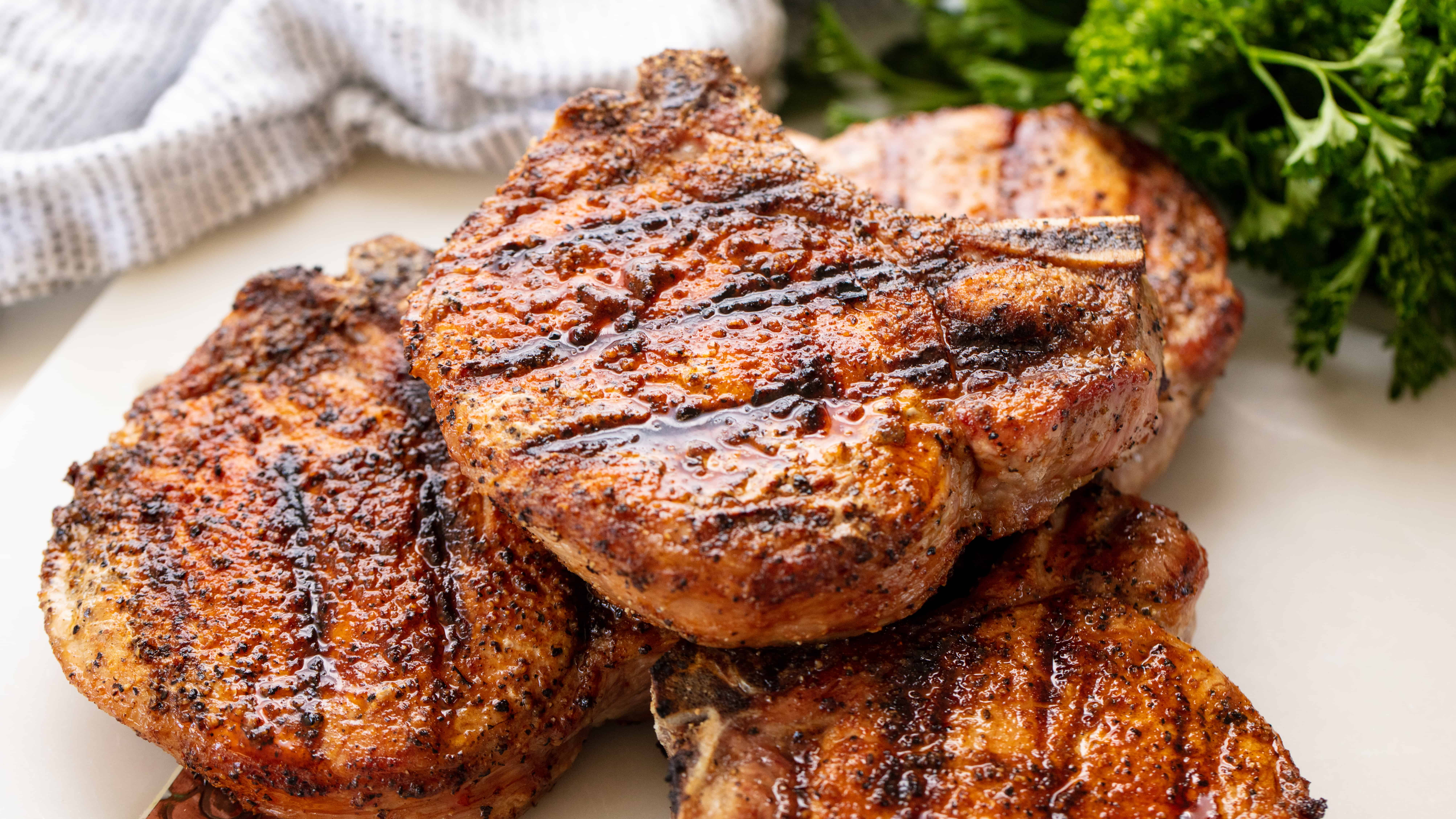 pork loin chops recipe on the grill Perfect Grilled Pork Chops