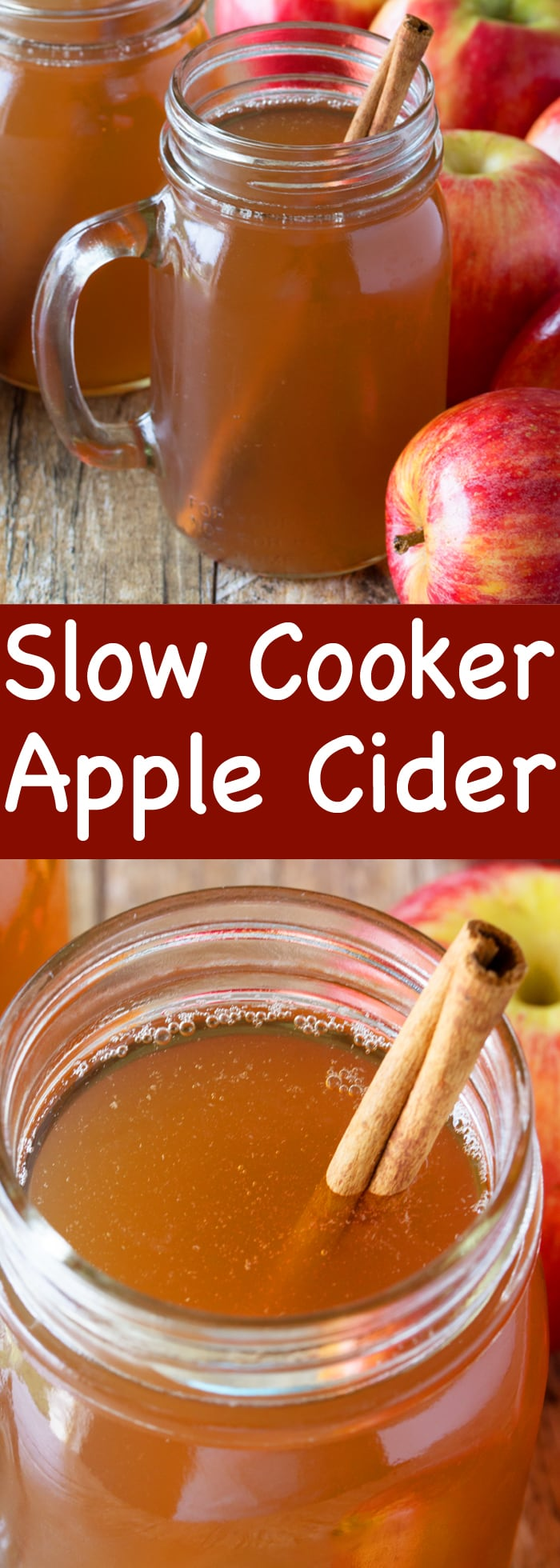 Cuddle up and stay warm with a mug of spiced apple cider. This Slow Cooker Apple Cider is made from scratch and can be frozen to enjoy all winter long!