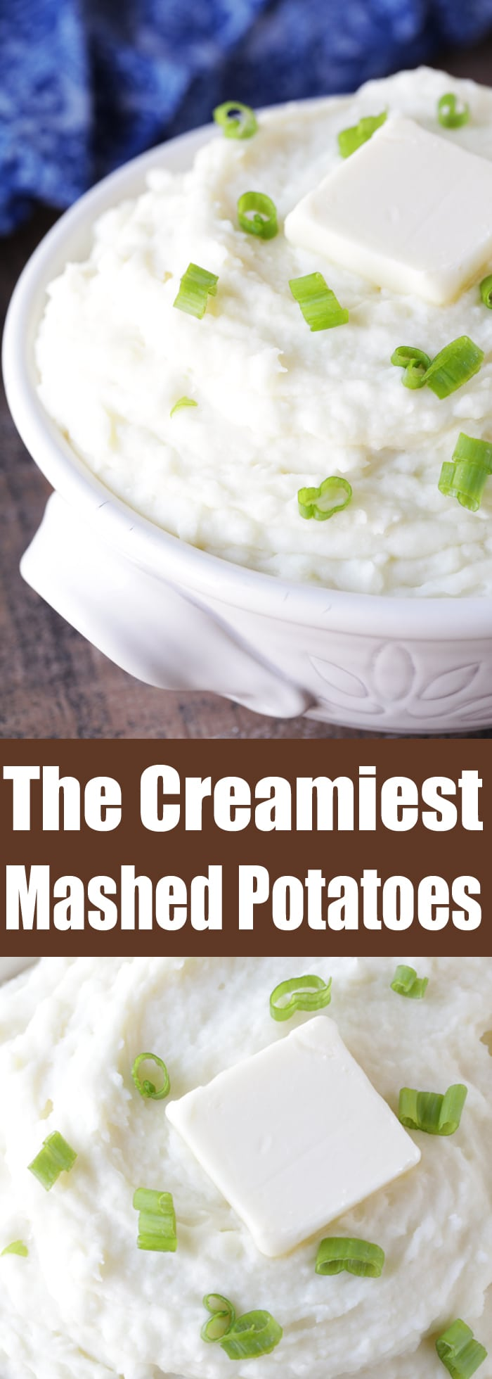 Make sure everyone at your dinner table raves about how yours are the creamiest mashed potatoes ever! This recipe is perfect for the holidays as well as your regular weeknight dinners.