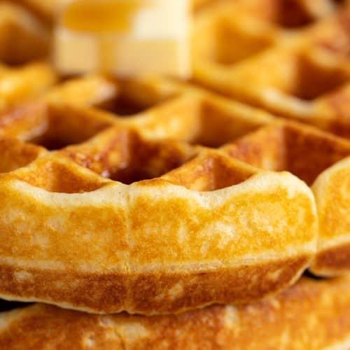 Perfectly Easy Homemade Waffle Recipe
