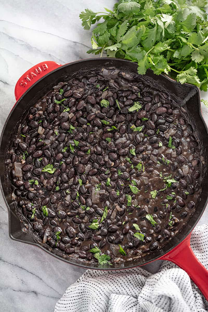 How to Make Mexican Black Beans