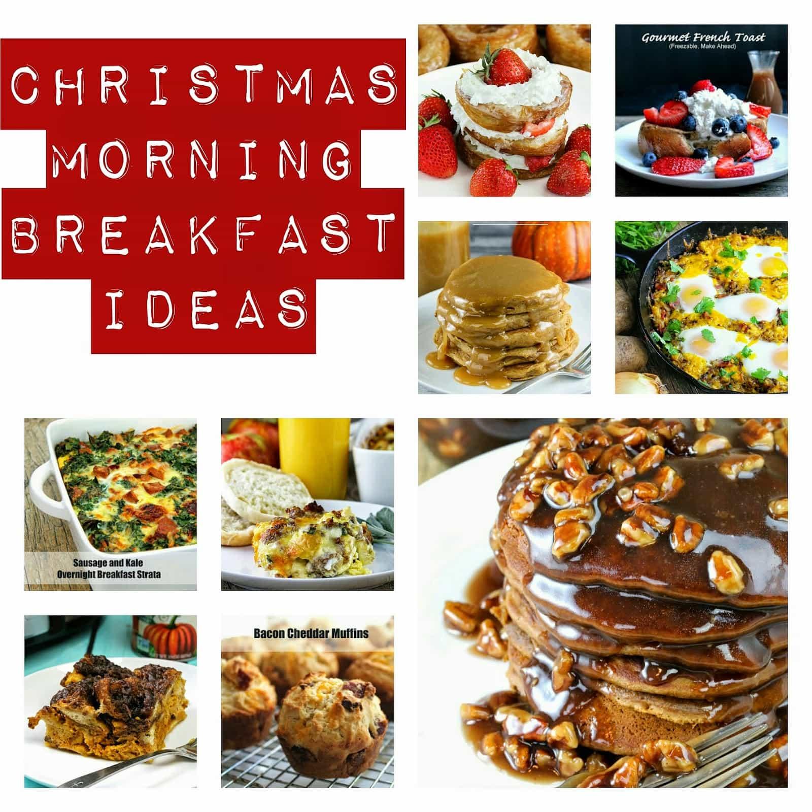 Christmas Morning Breakfast Ideas.Christmas Morning Breakfast