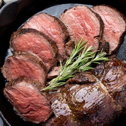 Garlic Brown Butter Beef Tenderloin