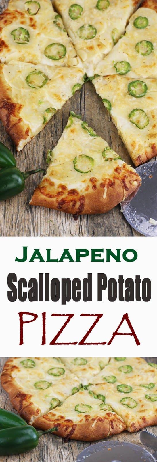 Jalapeno Scalloped Potato Pizza