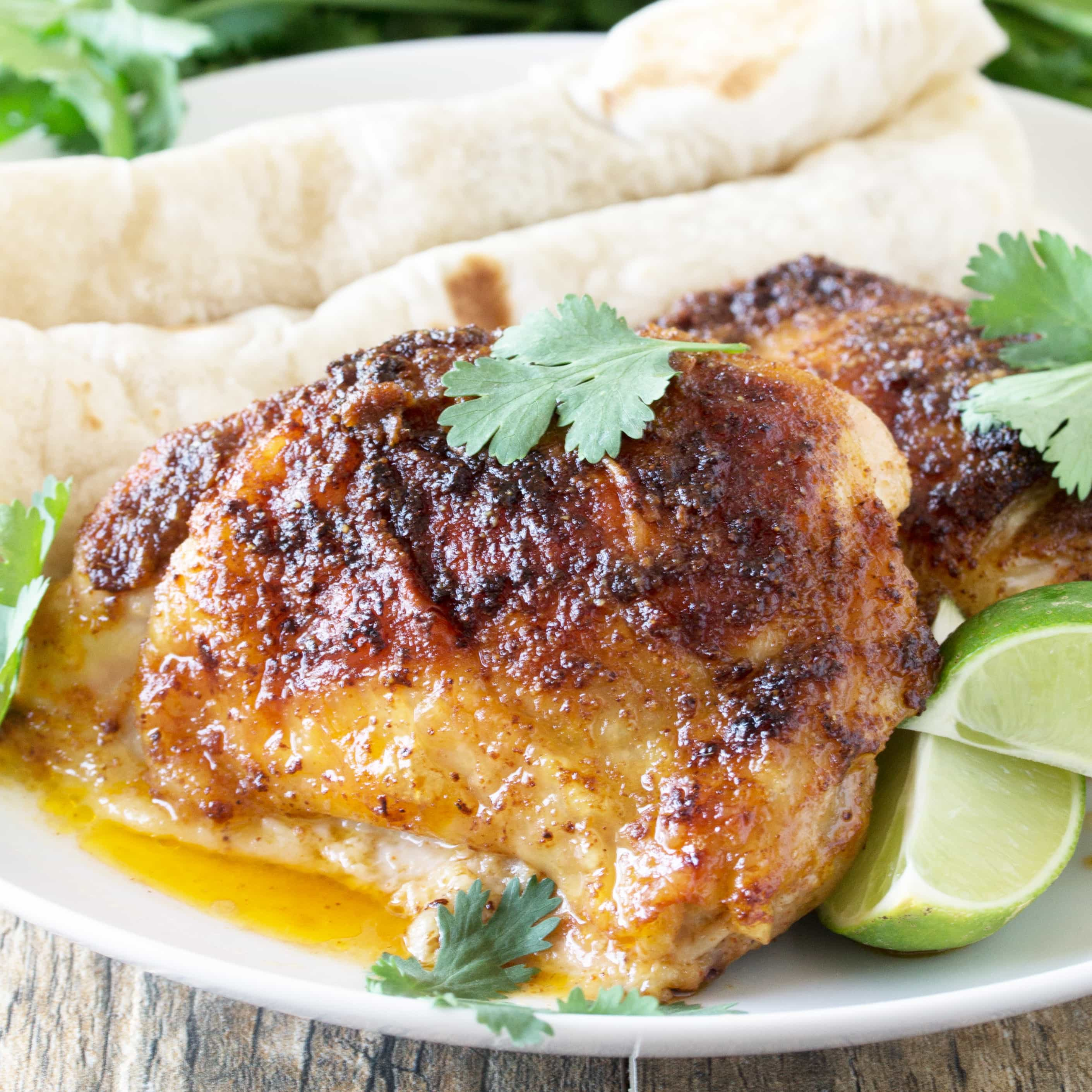 Mexican Spiced Chicken Thighs