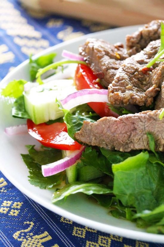 Skip The Take Out And Make This Easy Thai Beef Salad That Tastes Just Like