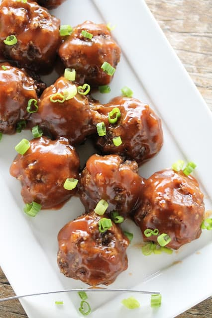 Vegan sweet and sour meatballs