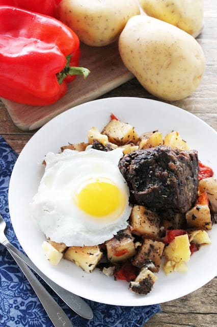 slow cooker short rib hash
