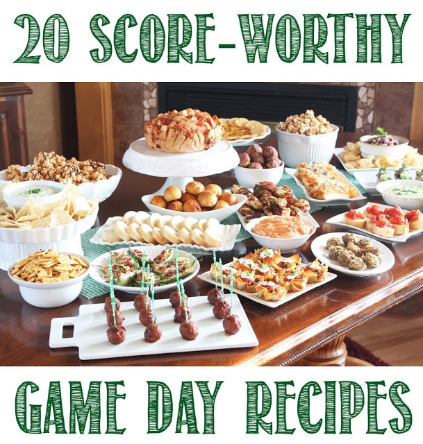 20 Score-Worthy Game Day Recipes