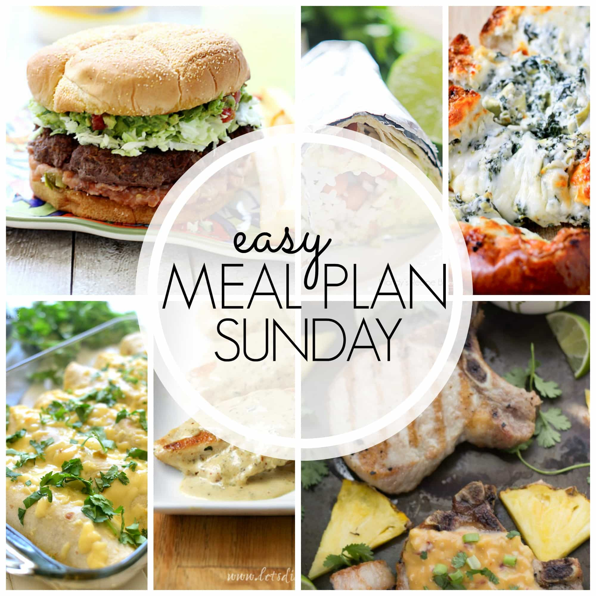 Easy Weekly Meal Plan. Leave the planning to us! 6 dinners, 1 breakfast, and two delicious desserts!