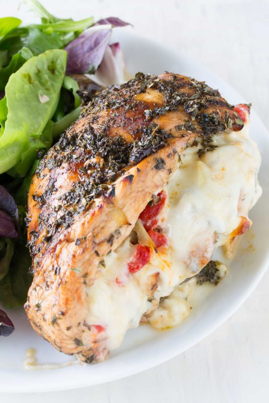 Italian Stuffed Chicken Recipe