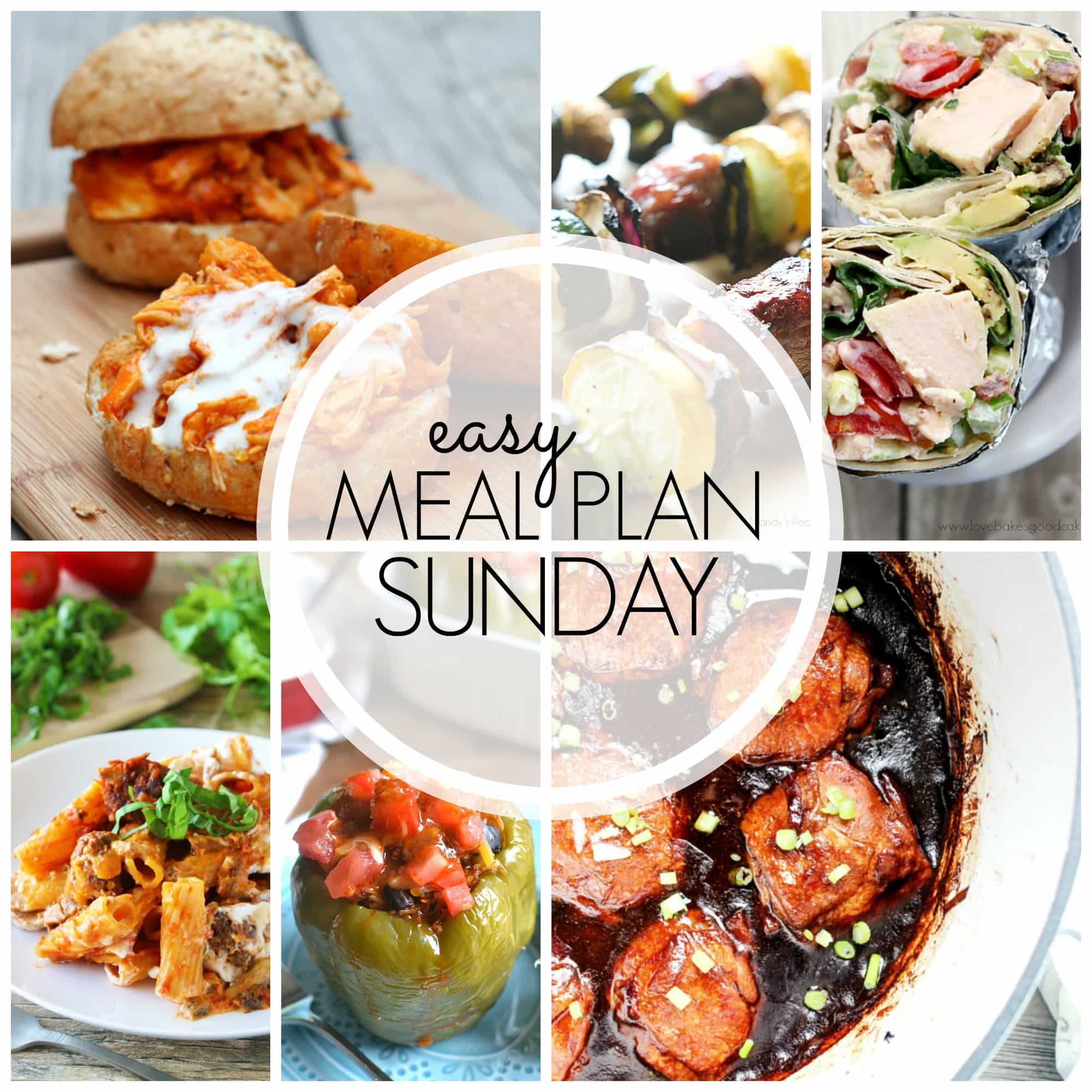 Leave the meal planning to us! 6 dinners, 1 breakfast, and 2 desserts for all your weekly meal plan needs.