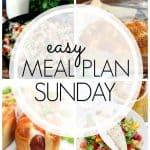 Easy Weekly Meal Plan