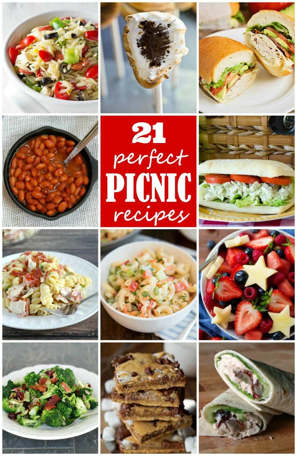 21+ Amazing Picnic Recipes for you next picnic!