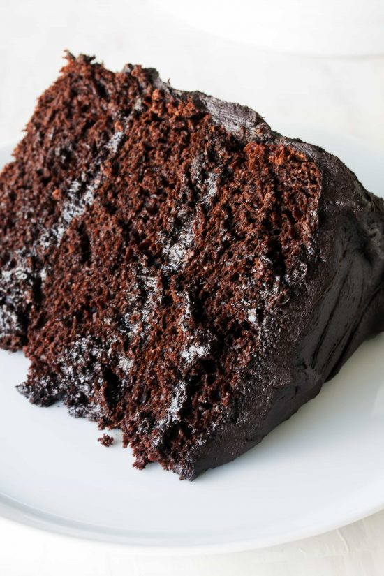 The Most Amazing Chocolate Cake Recipe - thestayathomechef.com