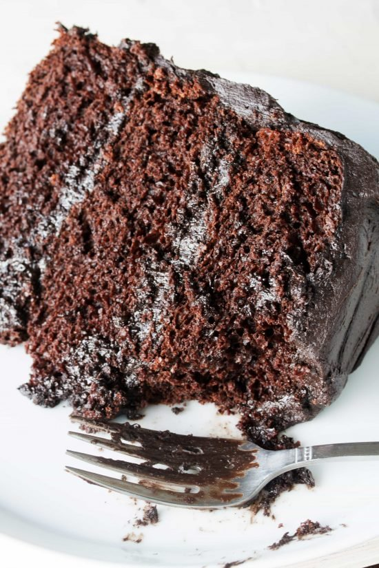 The most amazing chocolate cake recipe thestayathomechef moist chocolate cake recipe forumfinder Images