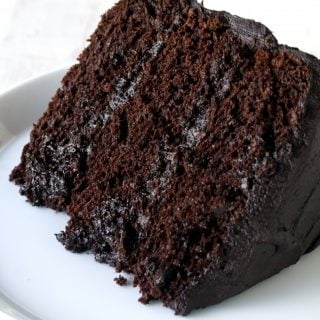 Chocolate Rum Cake From Mix