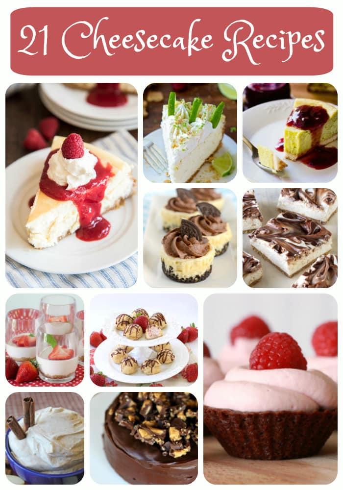 21+ Amazing Cheesecake Recipes to celebrate National Cheesecake Day!