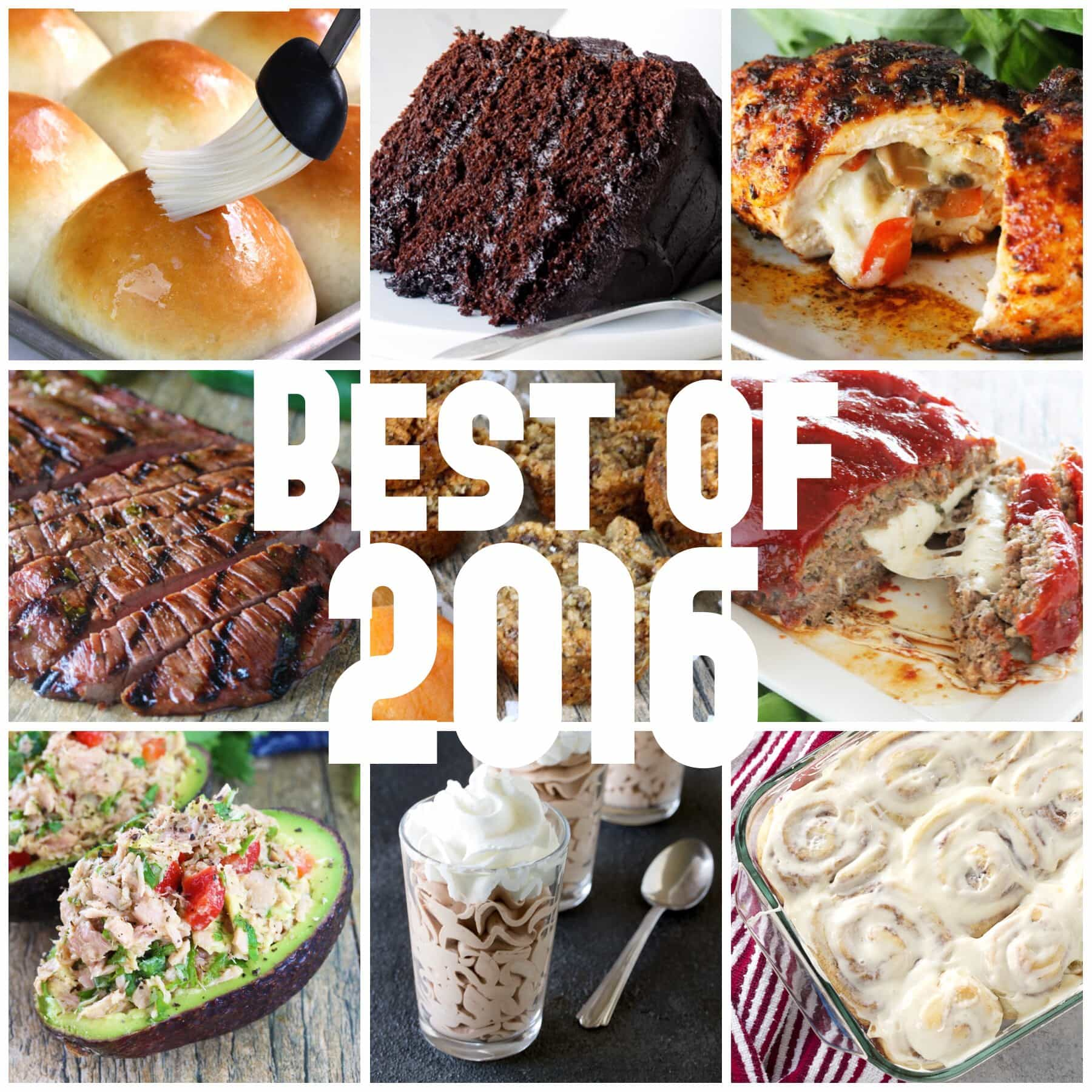 The top 10 most viewed recipes on www.thestayathomechef.com in 2016.