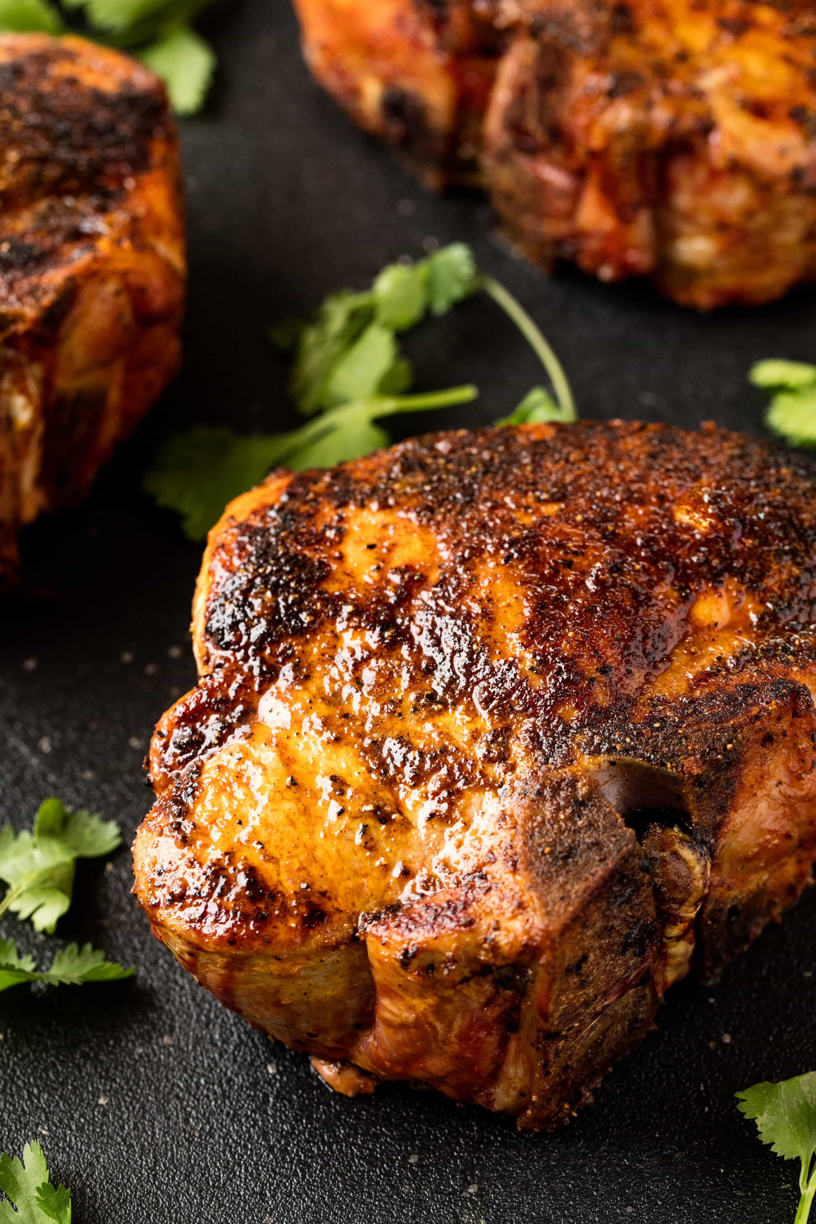 How long to cook pork chops on indoor grill