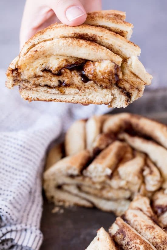 Cinnamon Roll Twist Bread gives you an impressive way to present the classic cinnamon roll flavors. And it's a lot easier than it looks!