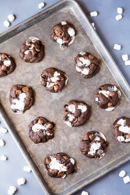 ocolate Marshmallow Chubbies are a cross between a brownie and a cookie and are full of ooey gooey chocolate marshmallow deliciousness!