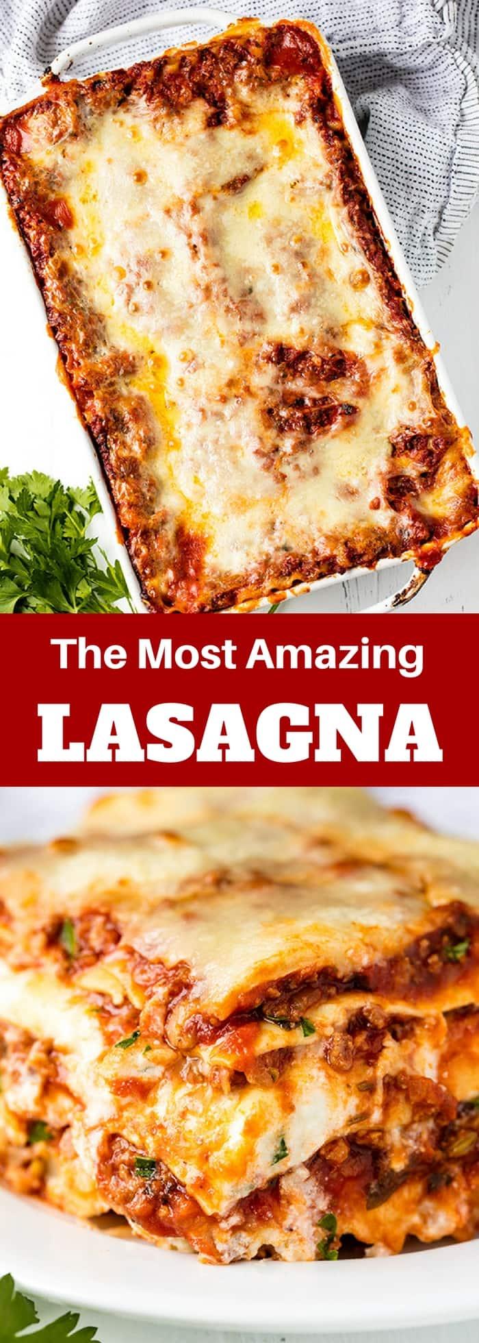 Admirable The Most Amazing Lasagna Recipe Download Free Architecture Designs Embacsunscenecom