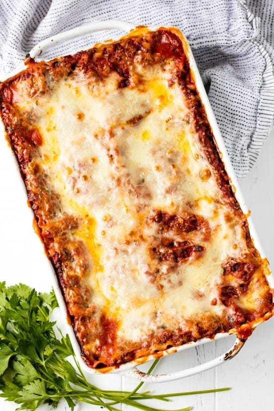 How long to cook fresh lasagna