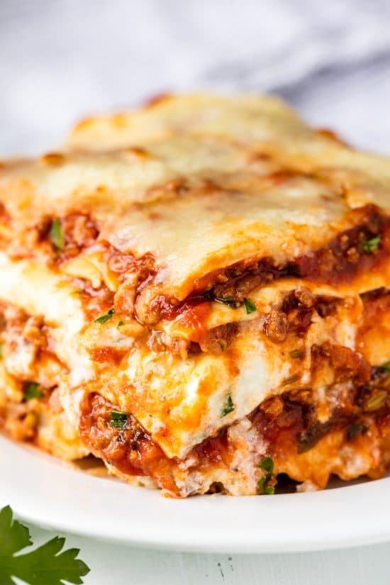 The most amazing lasagna recipe the most amazing lasagna recipe is the best recipe for homemade italian style lasagna the balance between layers of cheese noodles and homemade bolognese forumfinder Image collections