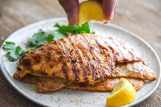 This Chicken Marinade will flavor your chicken in just 30 minutes, get your grill ready while it's chilling in the refrigerator!
