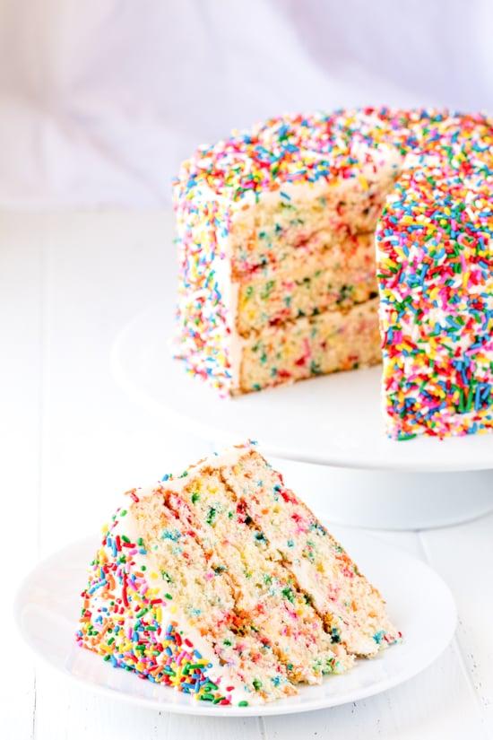 Funfetti Birthday Cake 9sm Thestayathomechef