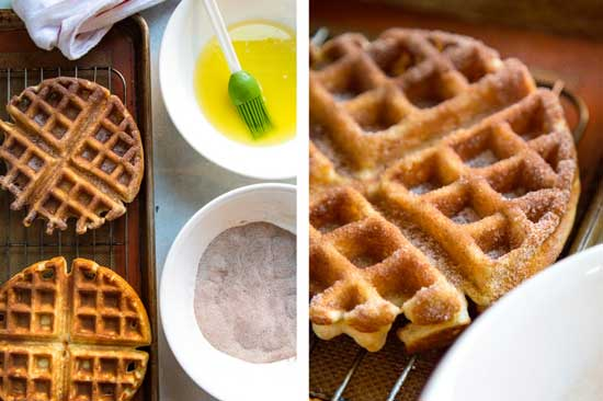 Best Churro Waffles