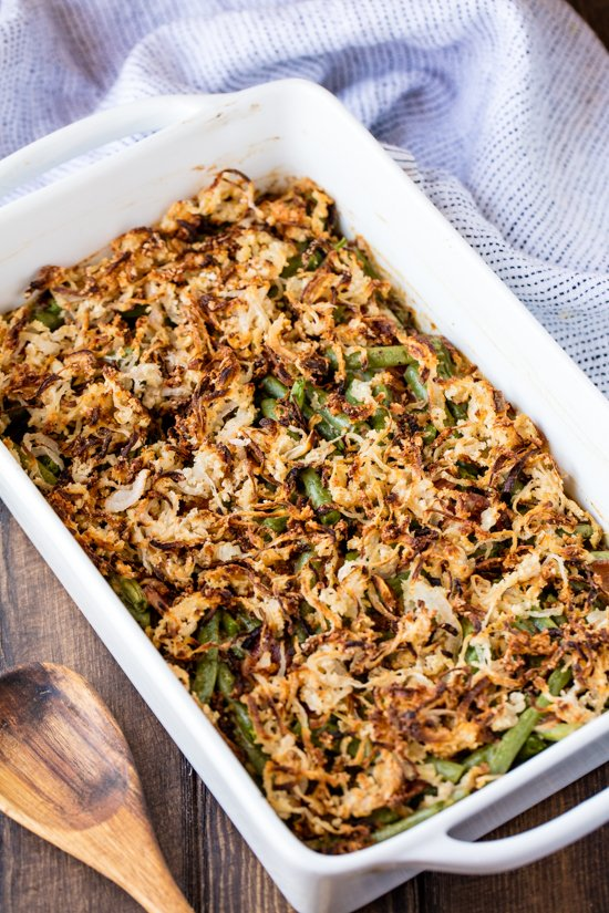 Old Fashioned Green Bean Casserole Recipe