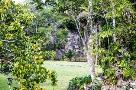 Kohunlich Mayan Ruins