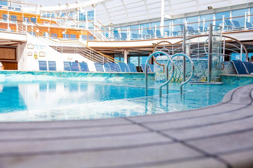 Crown Princess Deck Pool