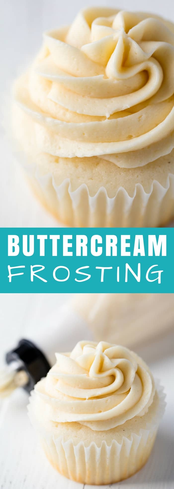 Buttercream Frosting is a classic option for cakes and cupcakes. This buttercream frosting recipe is perfection every single time.