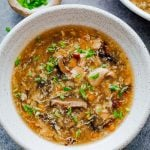 Incredibly easy chicken hot and sour soup that tastes just like your favourite restaurant version