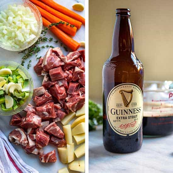 Ingredients for Irish Stew