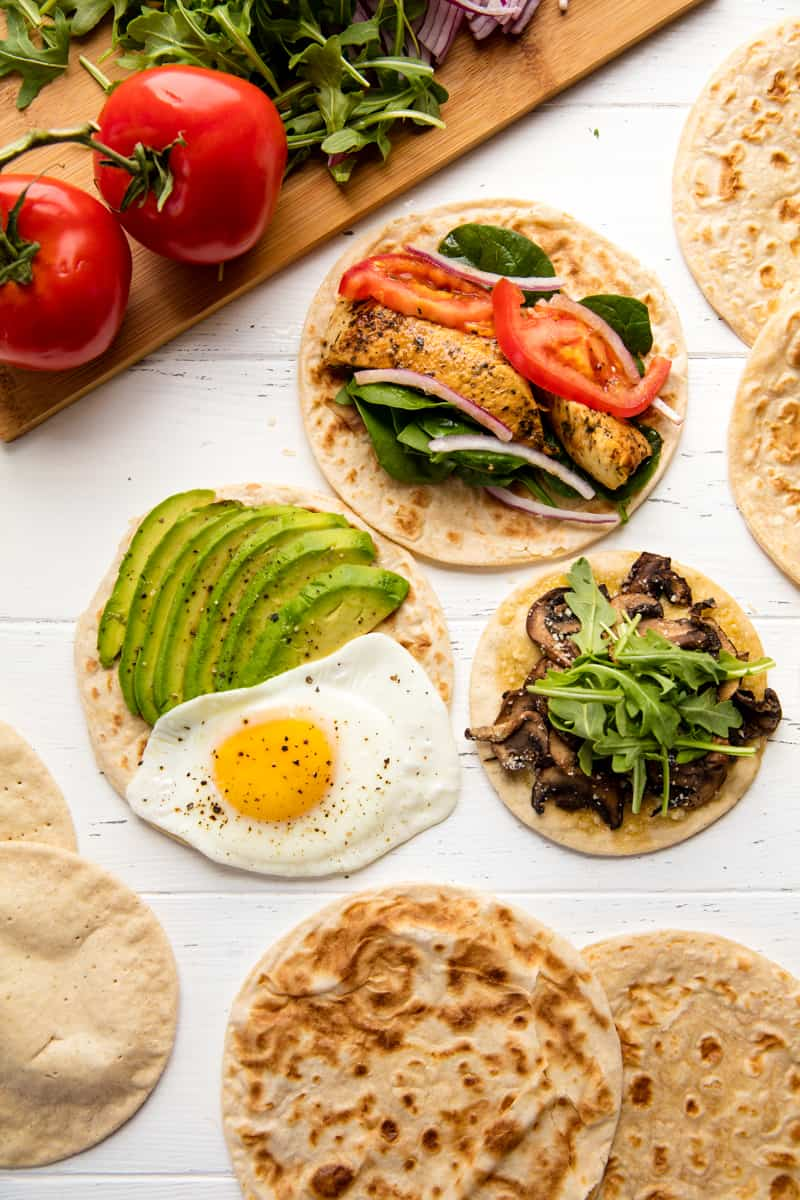 3 Healthy Flatbread Recipes