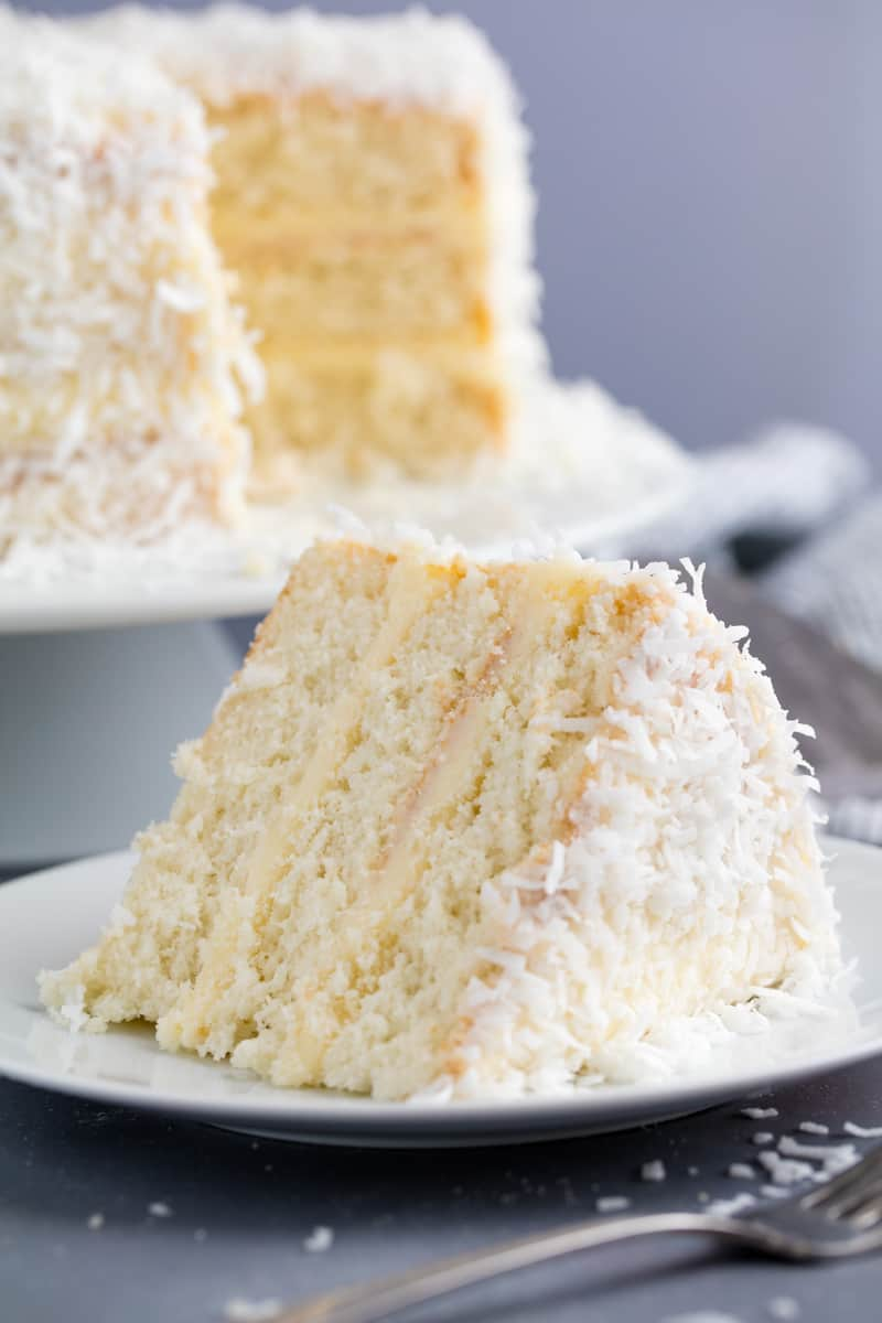 White Coconut Cake Scratch