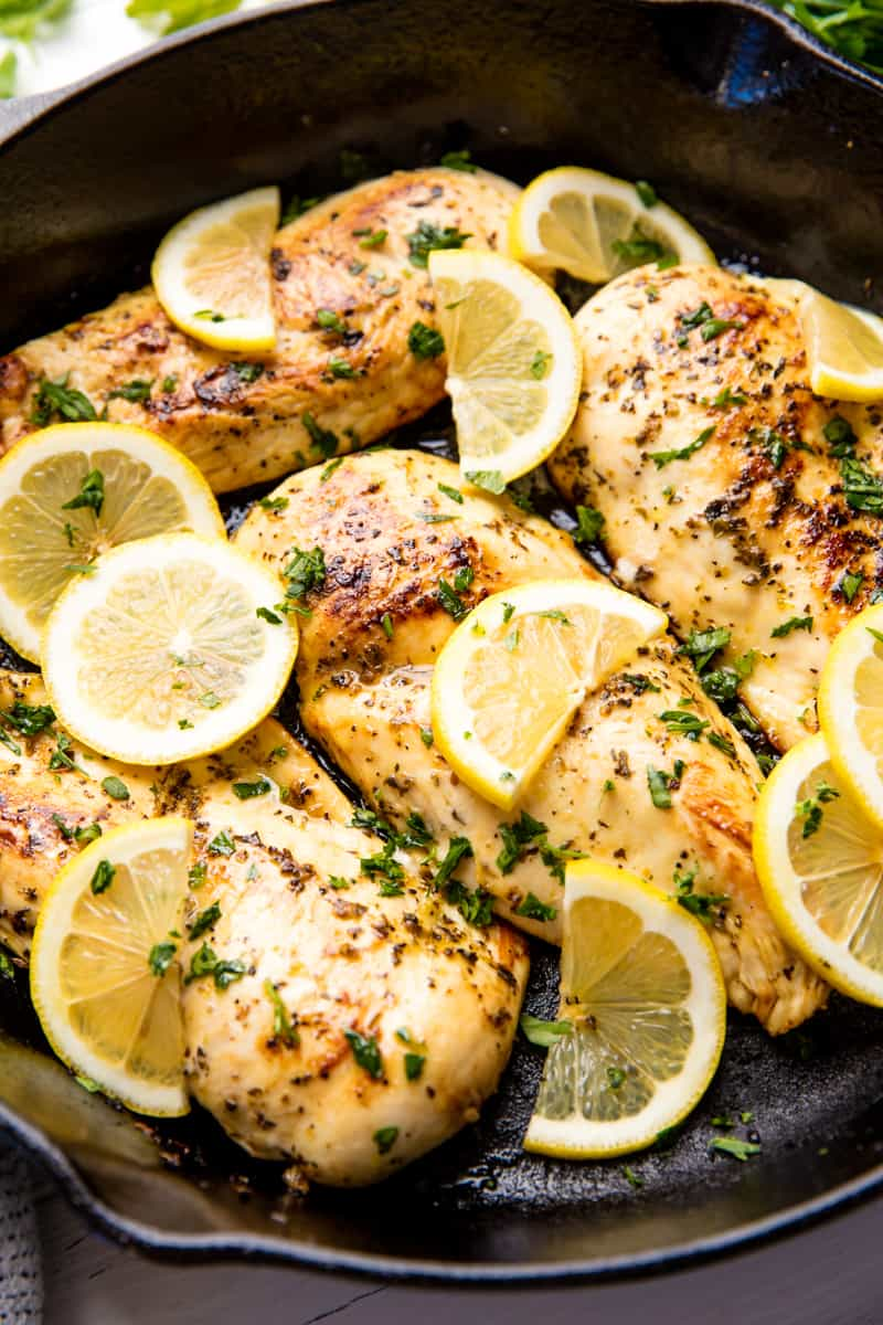 Quick And Easy Lemon Chicken