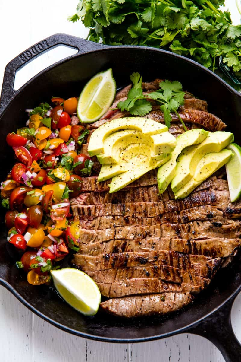 Mexican Skillet Steak