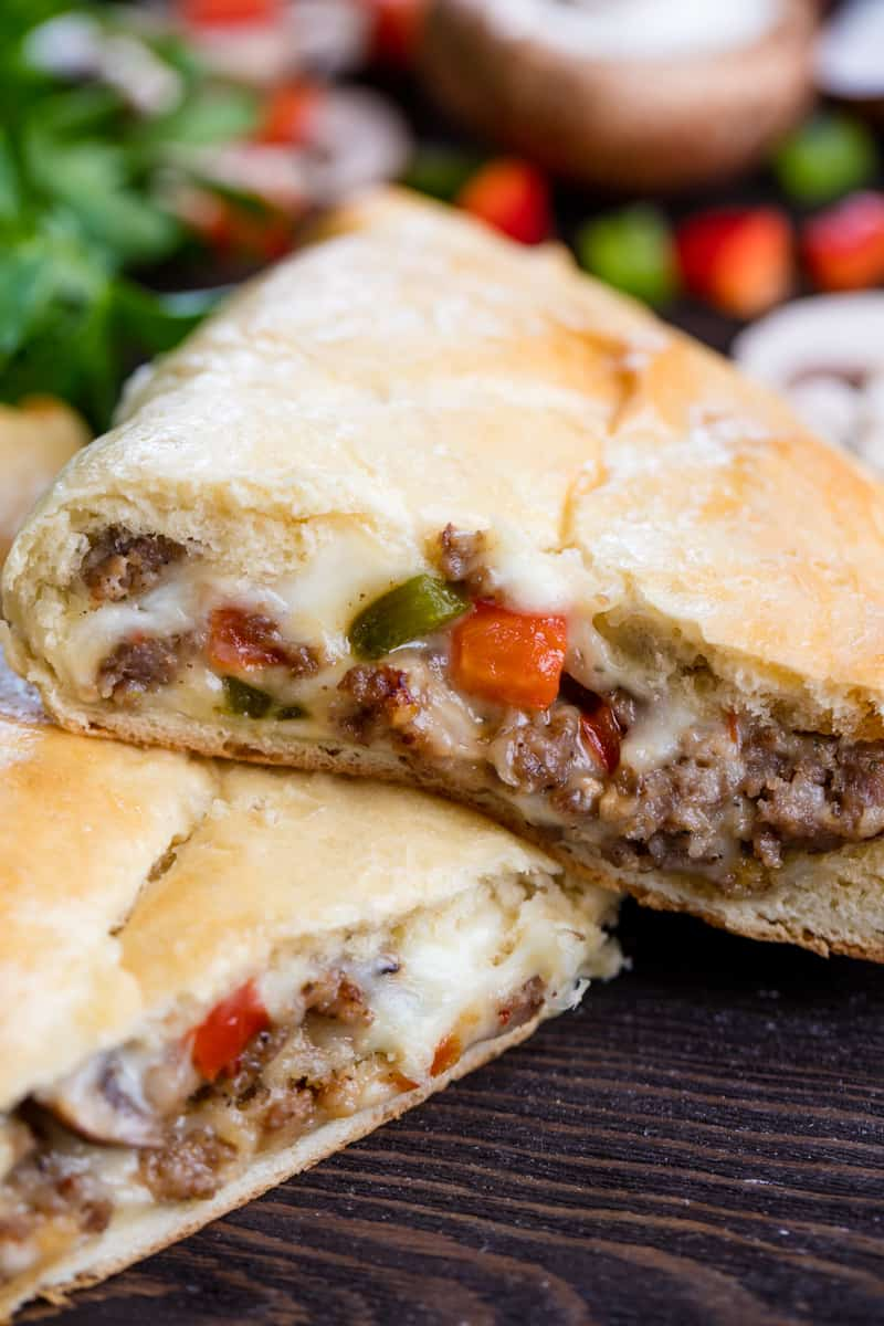 Sausage and Cheese Calzone
