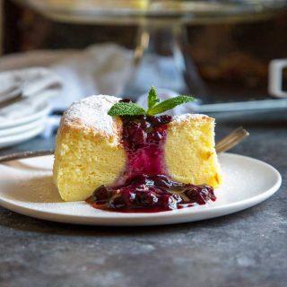 Jiggly Japanese Cheesecake